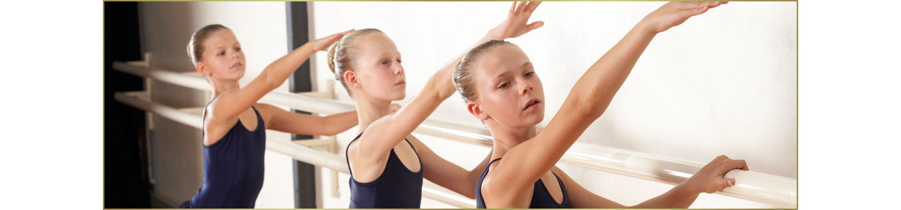 Ballet classes for youth.