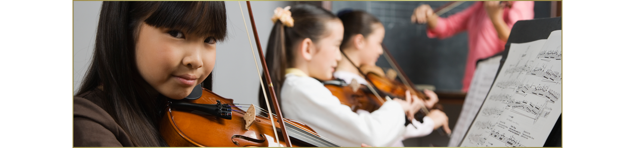 Youth violin music lessons.
